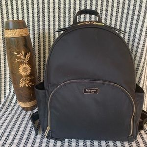 Large backpack dawn nylon Kate spade authentic
